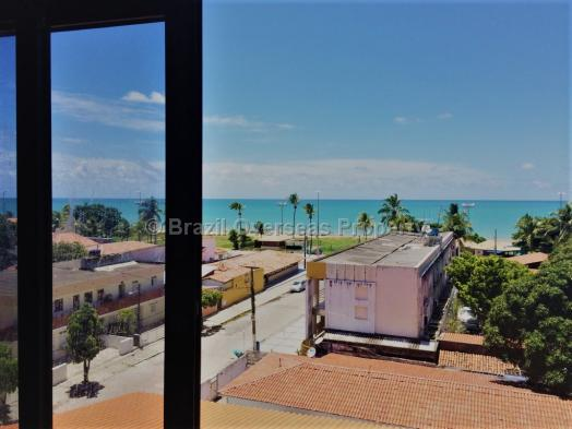 Apartment for sale in Joao Pessoa - Ocean view from apartment lounge