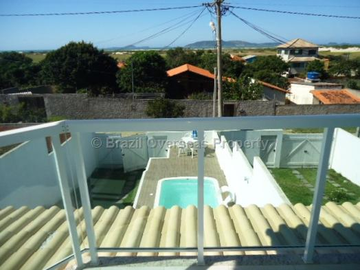 House for sale in Cabo Frio - Balcony view