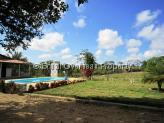 Farm for sale in Joao Pessoa - Main house and pool in view