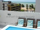 Apartment for sale in Joao Pessoa - Pool and ocean view