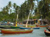 Ceara fishing village in the Northeast of Brazil
