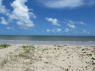 House for sale in Joao Pessoa - Beach view from garden gate